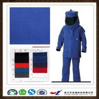 20*16 128*60 100% cotton twill 240gsm Flame Retardant Cotton Fabric for fire Safety Clothing