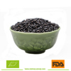 Steamed black rice with good quality