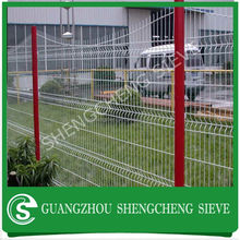 Guangzhou Welded Fence Panels Stand Zinc Wire Mesh fence