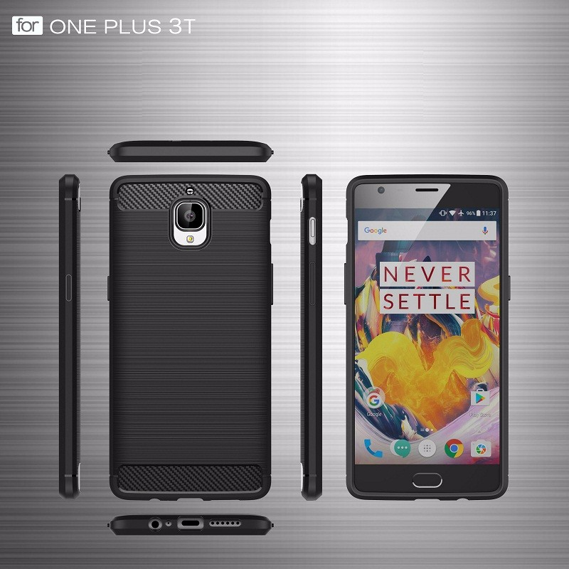 Best quality silicone flexible tpu cell phone case cover for oneplus 3t