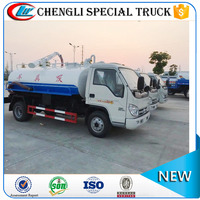 FOTON Forland 4x2 4x4 Toilet Sucker Vehicle Sewage Fecal Vacuum Suction Truck Manufacturer
