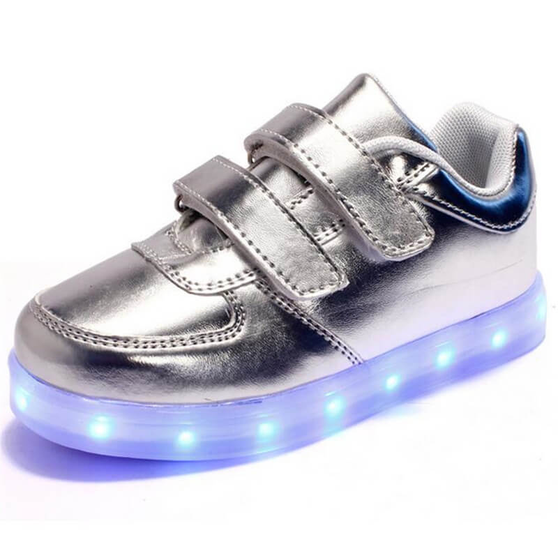 2017 latest new arrive design usa flag sneakers led shoes for women