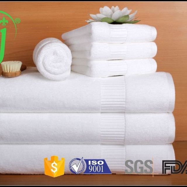 100 cotton striped terry hand towels wholesale /Bamboo fiber towel