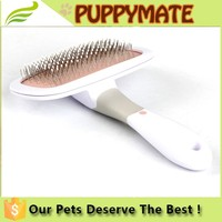 2016 Wholesale Dog & Cat Grooming Products Pet Massage Plastic Comb Dog Grooming Brush