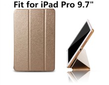 Retail Auto Wake Up Sleep Ultrathin PU Case Smart Leather Case For iPad pro 9.7