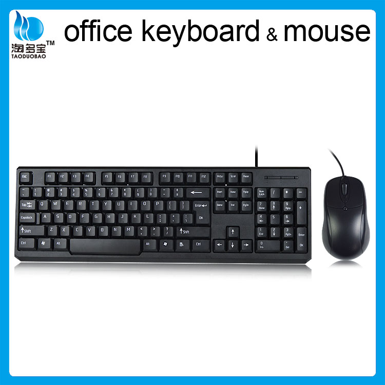 USB Keyboard and mouse set wired Keyboard combo in Shenzhen manufacturer