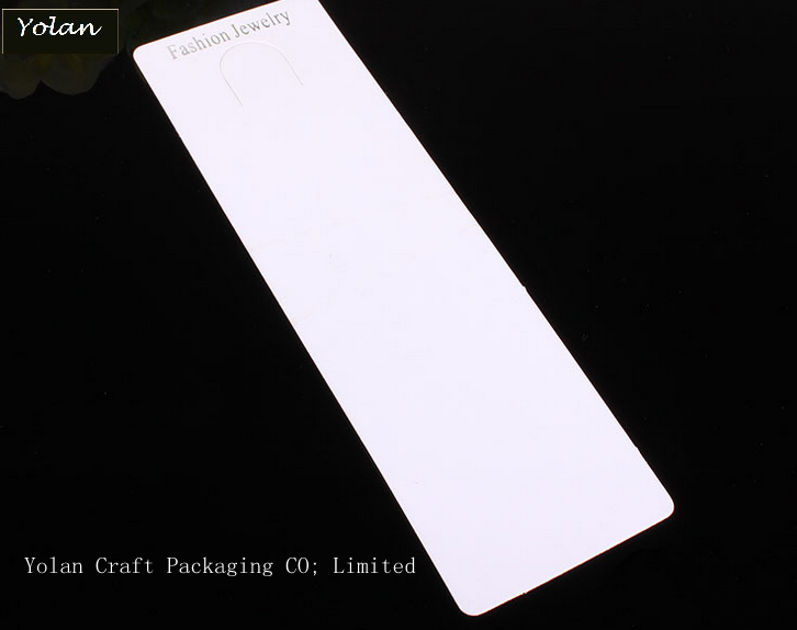 Custom bracelet packaging cards