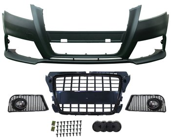 AUTO BODY KIT 2009-2011 S8 LOOK CAR BUMPER FRONT BUMPER FOR AUDI A3