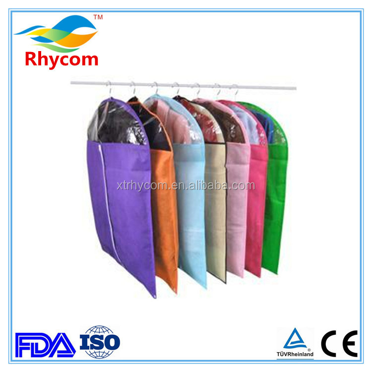 non woven dust proof eco-friendly disposable garment suit cover