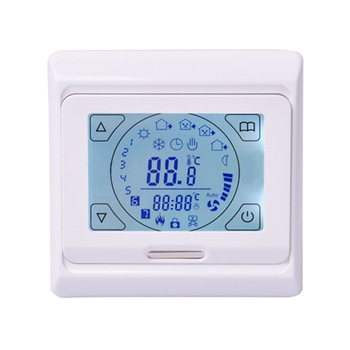 Exquisite workmanship M9.716 easy operation built-in sensor floor heating thermostat