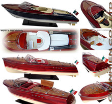 RIVA TRITONE WOODEN CRAFT BOAT - WOODEN SPEED BOAT MODEL