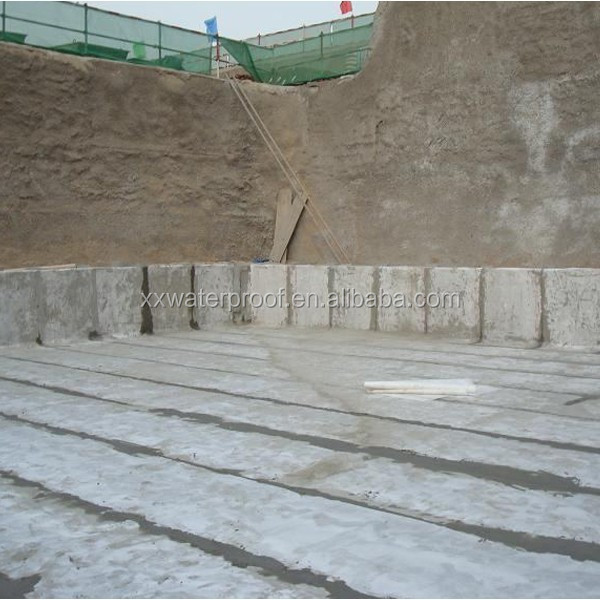 concrete waterproofing material for underlay