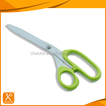 "9"" stainless steel PP handle sharp blades tailor shears"