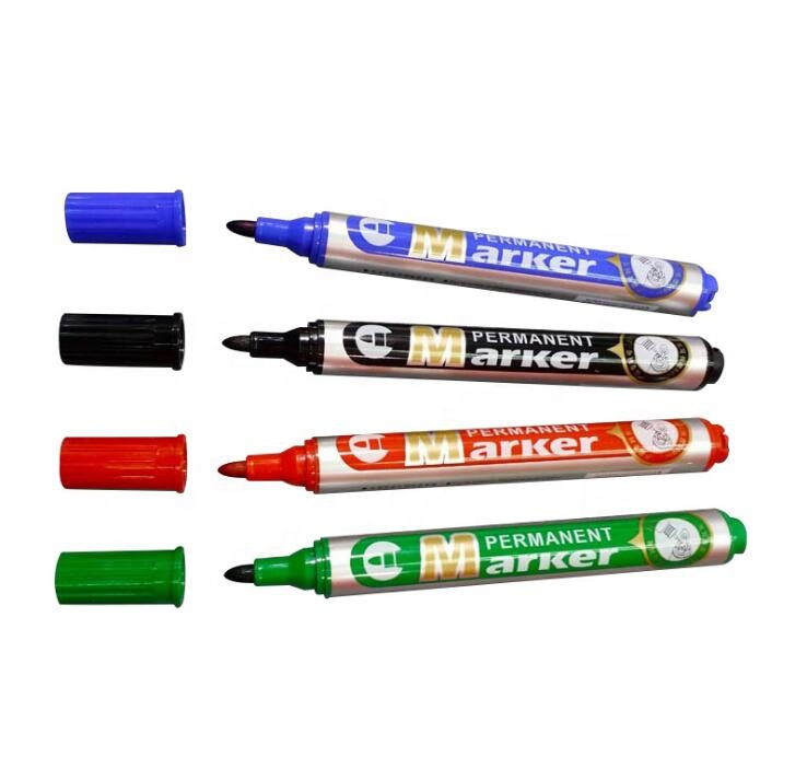 Non-toxic Refillable permanent ink marker dry easy