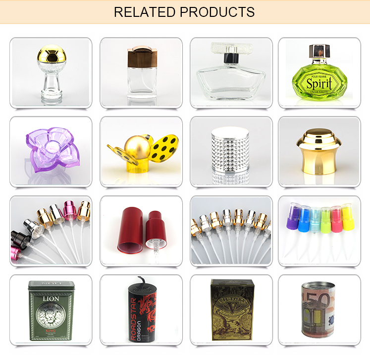 Wholesale Nice Fancy Shape Glass Perfume Bottle