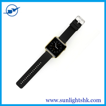 Competitive MTK WATCH GSM Watch Phone OEM with 4 colors and pure touch cap screen for All Android Phones