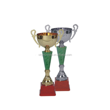 Big Gold Plating Metal Large Trophy Cups for Special Gifts