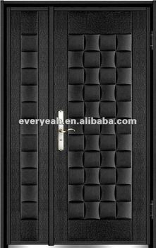 CASTING ALUMINIUM ENTRANCE DOOR WITH BULLET PROOF EJ-CA-15