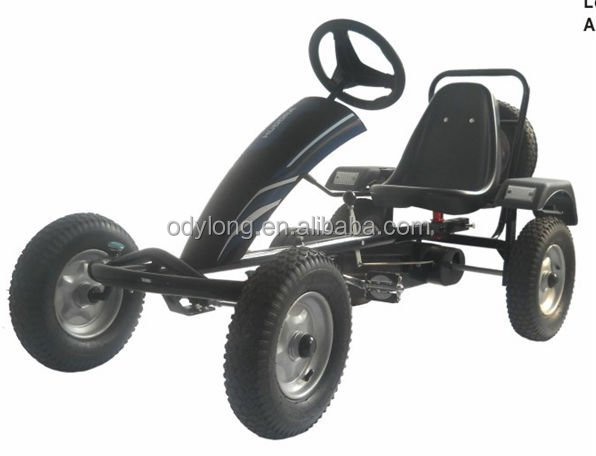 Adult pedal go kart with spare tyre F170E-1