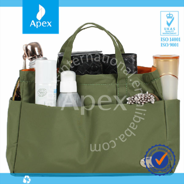 waterproof nylon travel cosmetic bag