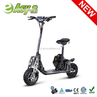 Hot EVO Uberscoot 2 wheel gas pedal scooter with CE/EPA certificate