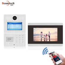 TCP/ IP SIP Multi Apartment Touch Screen Video Intercom System