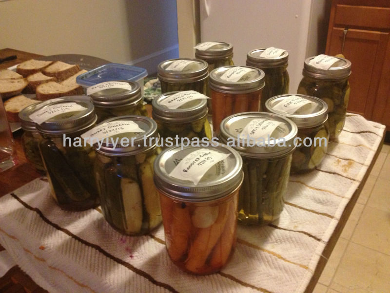 Canned Fruits and Vegetables in brine