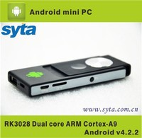 Mini PC RK3028 A9 Dual Core tv Stick 1G RAM 8G ROM Android 4.2.2 TV Box
