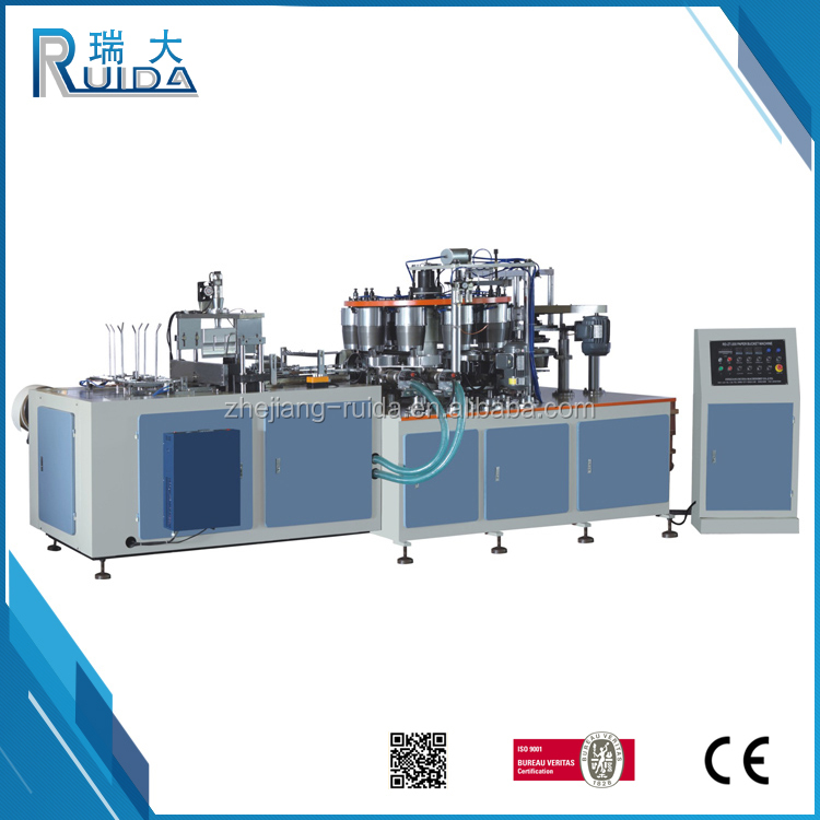 RUIDA Cheap Price High Speed 25-35 pcs/min Good Performance Paper Popcorn Cup Machine