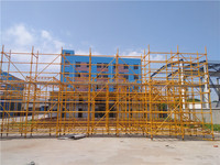 CE Construction Formwork Q235/Q345 Paiting Steel Ring Lock Scaffolding for Building