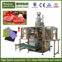 Fresh meat pad packing machine, Frozen Meat pads packaging machine, SAP packaging machine