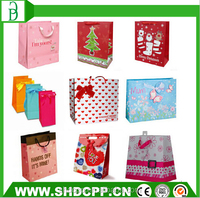 hot selling fancy shopping paper gift bag