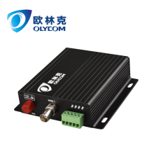 1ch analog video RS485 data to fiber video optical converter for PTZ camera