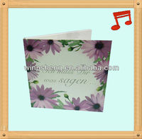 greeting cards musical ic chip