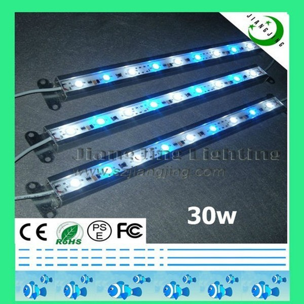 Top quality blue 4ft freshwater under water IP68 led lamps coral for aquariums
