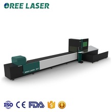 CNC high speed auto-feeding laser cutting machine for tube on sale