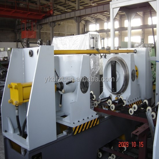 Drum Flanging Machine for 200-220L cylindrical drum making equipment plant Petrochemical Industry