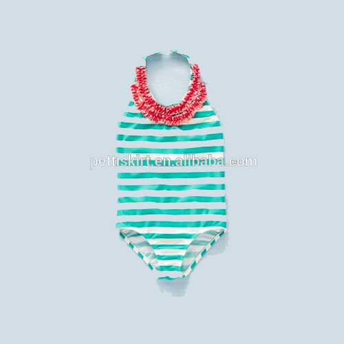 Exquisitely Specificity Ruffle Young Children Models Girls Sexy Kids Swimsuit