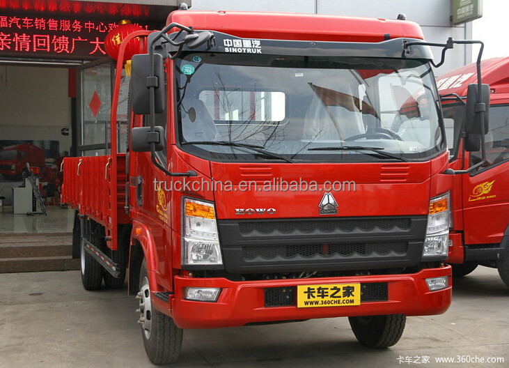 China famous brand Sinotruk lorry truck 4x2 mini cargo truck for sale
