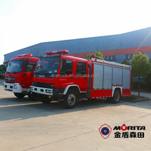 China factory price small fire truck, rescue fire engine, electric fire truck