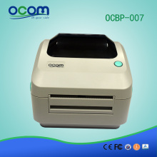 OCBP-007: 4 inch name sticker thermal printer machine with manual cutter