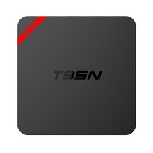 Newest Android Tv Box 1Gb Ram 8Gb Rom Built In2.4GHz/1GB DDR3 Wifi Quad Core Amlogic S905 T95N With Kodi Quad