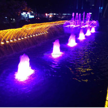 Outdoor Wedding Decoration Led light Water Fountain