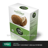 Instant coconut cream powder Box