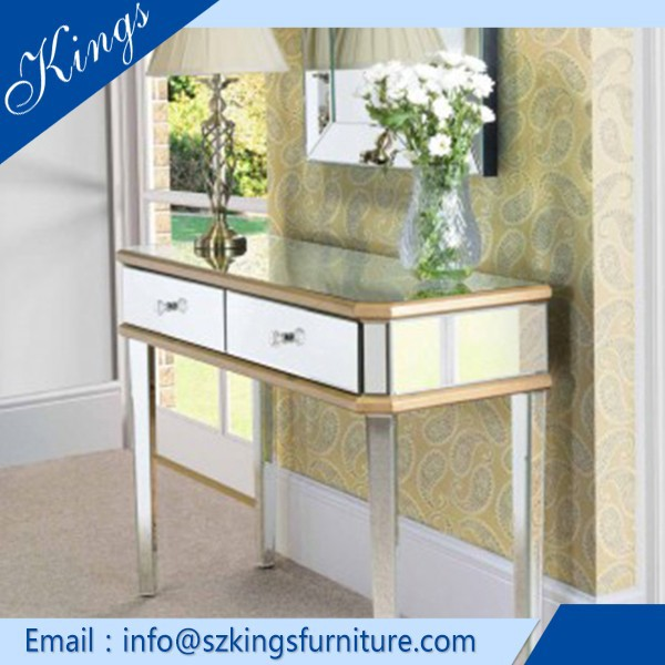 Hot Selling Contemporary Design Luxury Console Table With Mirror T562