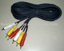 3 RCA Audio /Video wire for car