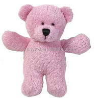plush Magnetic Stuffed Bear Magnet Mates (Pink or colorful) warmful remind