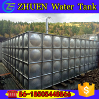 ZhuEn hot-dipped galvanized pressed steel water tank
