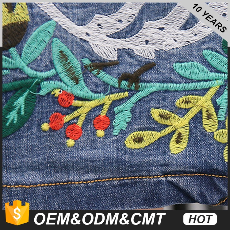 New Look Embroidered jeans dress suit