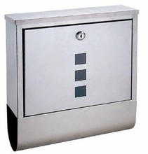 apartment metal mail box courier box letterbox postbox